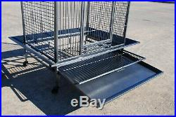 2 Color, X-Large 36X28X68H For Large Parrot Macaw Cockatoo African Grey Cage