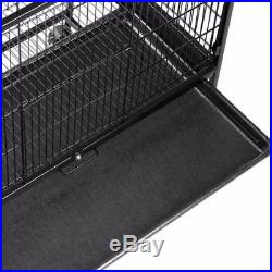 2 Tier Large Metal Bird Cage Aviary Cockatiels, Parrots, Parakeets Home Pet Cage