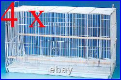 30 Large Lot of 4 Breeding Flight Canaries Parakeets Aviaries Finch Bird Cages