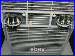 32Wx23x66H X-Large Parrot Cage Stand For Macaw Cockatoo African Grey Amazon