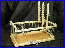 3 Trap Cages Lot Double Balance and two Small for Birds