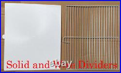 4 Large Combo Double Stack Lock LoveBirds Breeding Bird Cages With Dividers
