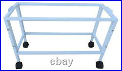 4 of Stackable Breeding Bird Cages Aviary Canary Budgie With Divider Roll Stand