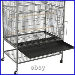 52-inch Large Parrot Bird Cockatiel Lovebird Conure Cage with Stand