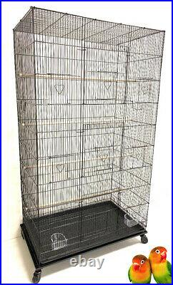 55 Extra Large Flight Multiple Parakeets Canaries Finches LoveBirds Breed Cage