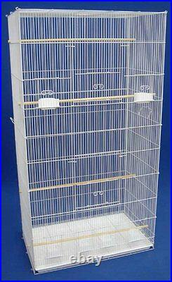 55 X-Large Canary Parakeets Cockatiels LoveBird Finches Glider Bird Cage Stand