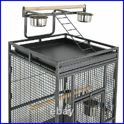 61 Inch Bird Cage Top Play Non-Toxic Powder Coated Steel Best Pet Comfortable