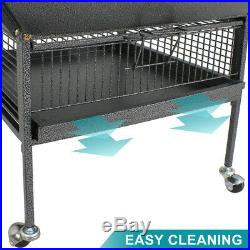 61 Large Bird Cage Large Play Top Parrot Finch Cage Pet Supplies Removable Part