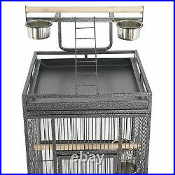61 Large Bird Cage Top Play Non Toxic Power Coated Steel Best Pet Removable