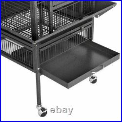 62 Large Bird Cage Large Play Top Parrot Finch Cage Pet Supplies Removable Part