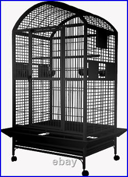 A&E 36x28x65 Extra Large Dome Top Bird Cage with 1 Bar Spacing