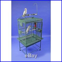 A&E Cage 32x23 Play Top Cage with5/8 Bar Spacing 8003223BLACK Bird Cage NEW