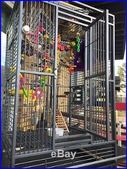 All Living Things Skyscraper Cage Bird Toys Cover Parrot Cockatiel Macaw
