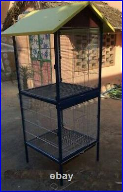 Bird Cage Double storey -Good breeding cage for lovebirds finch cockateils