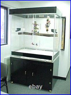 Bird Cage For Large Macaws, Parrots Acrylic Cage with BLACK Base