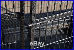 Bird Cage For Parrot Macaw Cockatoo African Grey Q27-3223 Black Vein
