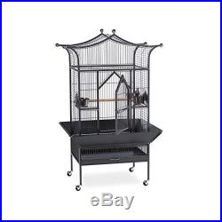 Bird Cage Parrot Finch Large Pet Parakeet Cockatiel Macaw Canary Cockatoo