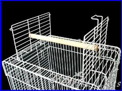 Bird Cage Senegal Open Top Small 830A White with Stand