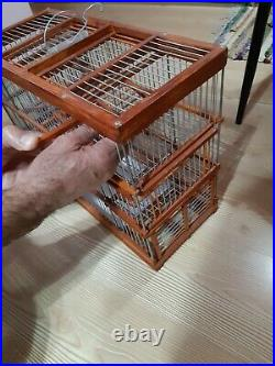 Bird Cage Trap Cage with Six Traps