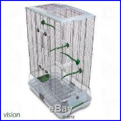 Bird Cage for Budgies Canaries Lovebirds and Finches Medium Birds Accessories
