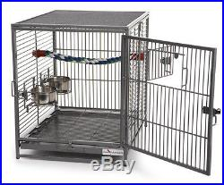 Bird Cages Travel Birdcages Medium Parrot Parakeet Finch Canary Cage Portable