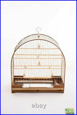 Cage N° 5 Wood For Various Small And Medium-sized Birds Like Canaries