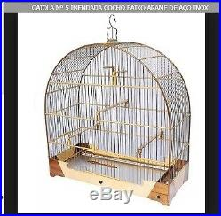 Cage Wood Birds Type 5 Canary