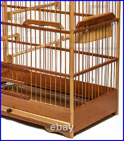 Cage for Breeding Small Pet Birds Made of Wood, Canaries, Coleiro, etc