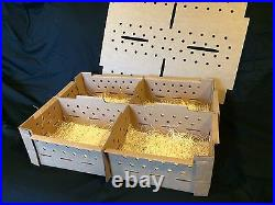 Chick Shipping Boxes-Holds 100-400 Day Old Chicks Package of 20 boxes