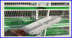 Combo 4 Stack and Lock Double Breeding Breeder Bird Flight Cage L68W24H69