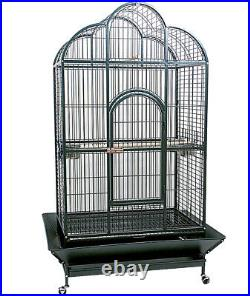 Complete cage with wheels for parrots Ferribiella