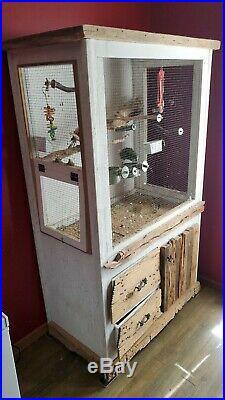 Custom bird cage 24x42x72.5 inches. PICK UP ONLY, NO SHIPPING