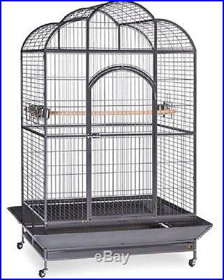 Dometop Bird Cage Parrot House Prevue Pet Stand Silverado Macaw Home Set Large