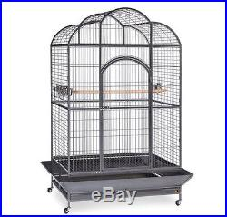 Extra Large Dometop Bird Cage House Parrot Cockatiel Finch Pet Parakeet Stand