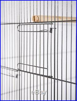 Extra Large Iron Bird Flight Cage Finches Parrots Canary Aviary Cages with Stand