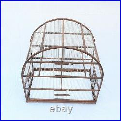 Extra Large Oval Bird Cage // Bird House // Bird Home // Wooden Handcrafted