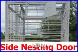 Extra Large Parrot Cage For Macaw Cockatoo African Grey Amazon 32W x 23 x 66H