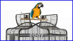 Extra Large Parrot Open Play Top Cage For Macaw Cockatoo African Grey Cockatoo
