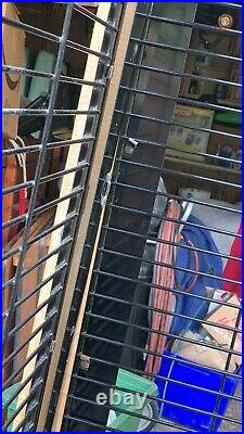 Fancy Bird Cage Parrot Extra Large Cage Custom Made Wood Metal with locks