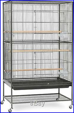 Flight cage makes the perfect home for multiple Parakeets, Canaries or Finches