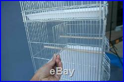 Galvanised Breeding Bird Cages on Stand for Canary Parakeet Budgie Cockatiel NEW