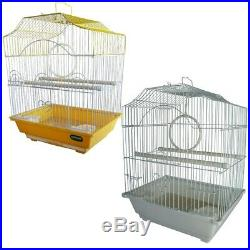 HERITAGE CORFE BIRD CAGE 30x23x39CM FINCH BUDGIE CANARY HOME PET BIRDS SMALL