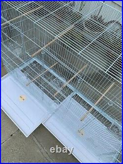 Huge Flight Bird Cage/ Aviary Finches Parakeets Lovebirds Conure Canaries