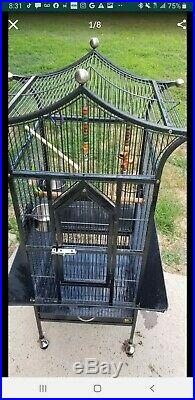Kings Cages Parrot Bird 8002422 play top bird toy toys cage cockatiels conures