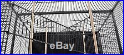 LARGE Tall Stackable Double Bird Cockatiel Sugar Glider Wrought Iron Pet Cage962