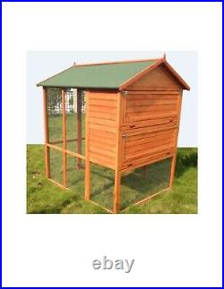 Large Bird Cage, Chicken Wooden Cage, Pigeon Cage