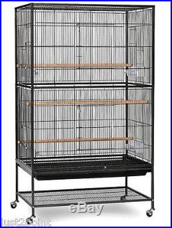 Large Bird Cage Parrot Finch Cocktail Macaw Parakeet Cockatoo Outdoor Indoor New
