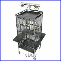 Large Bird Cage Play Top Bird Parrot Finch Cage Macaw Best Pet Bird Supply 61'