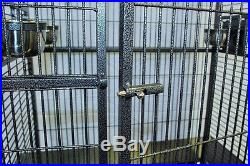 Large Bird Parrot Open PlayTop Cage Cockatiel Macaw Conure Aviary Finch 694