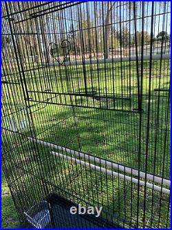 Large Flight Aviary Bird Cage Budgies Parakeets Finches Canaries Lovebirds